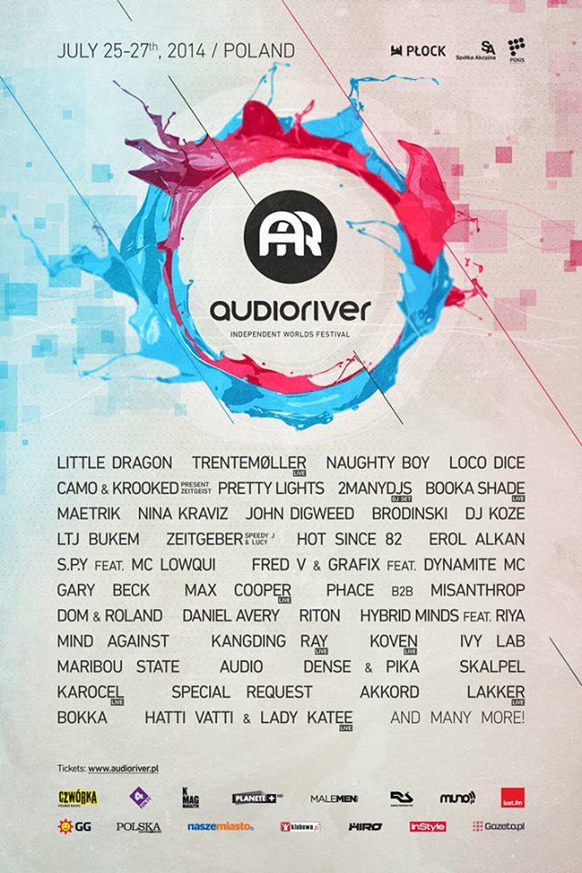 audioriver 2014 line-up