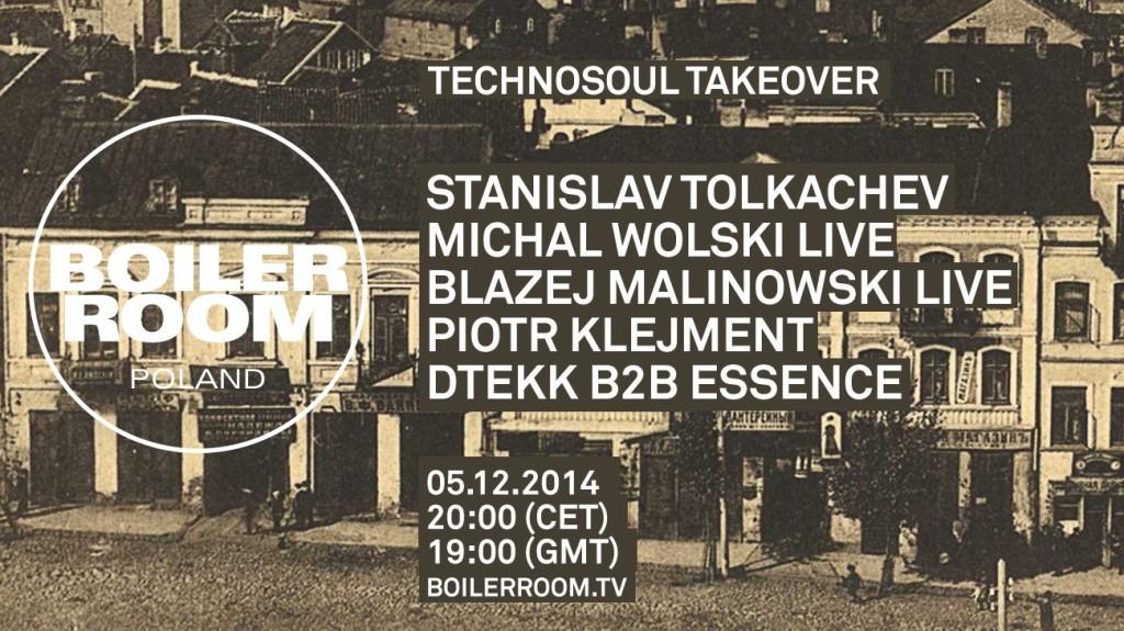 Boiler Room Poland Technosoul